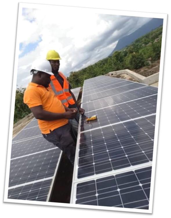 avenir togo - panneaux solaires
