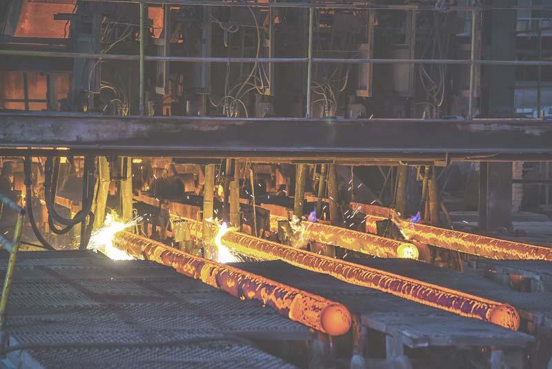 métal industriel réduit sa facture énergétique
