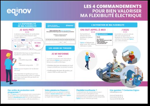 4 commandements flexibilité électrique