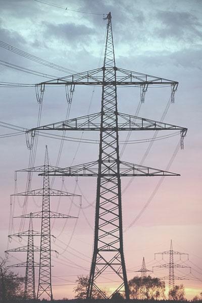 poteaux électrique abattement turpe