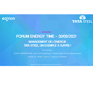 Management de l'énergie - Retour d'expérience de la société TATA STEEL